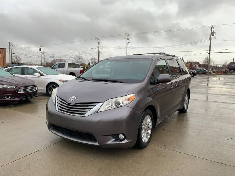 2011 Toyota Sienna for sale at Crooza in Dearborn MI
