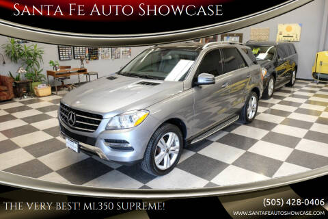 2013 Mercedes-Benz M-Class for sale at Santa Fe Auto Showcase in Santa Fe NM