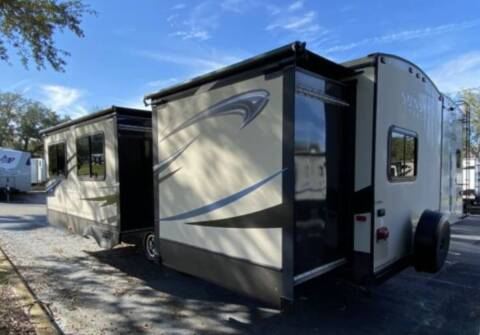 2014 Crossroads Sunset Trail for sale at Florida Coach Trader Inc in Tampa FL