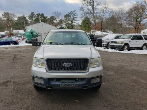 2004 Ford F-150 for sale at 1st Priority Autos in Middleborough MA