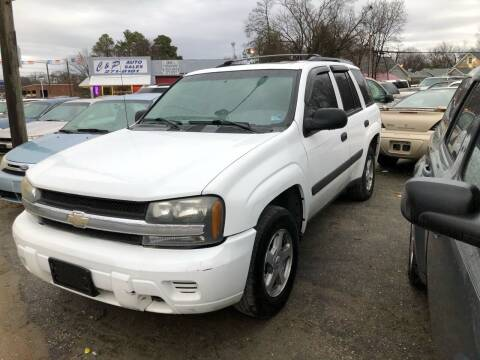 2005 Chevrolet TrailBlazer for sale at AFFORDABLE USED CARS in Richmond VA
