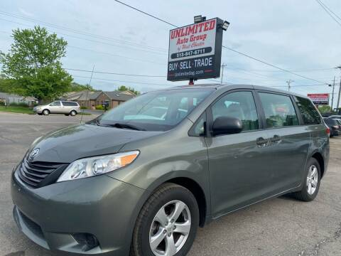 2011 Toyota Sienna for sale at Unlimited Auto Group in West Chester OH