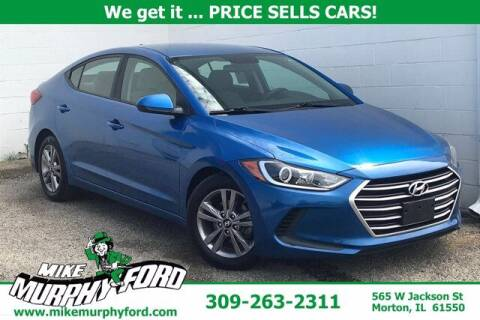 2017 Hyundai Elantra for sale at Mike Murphy Ford in Morton IL