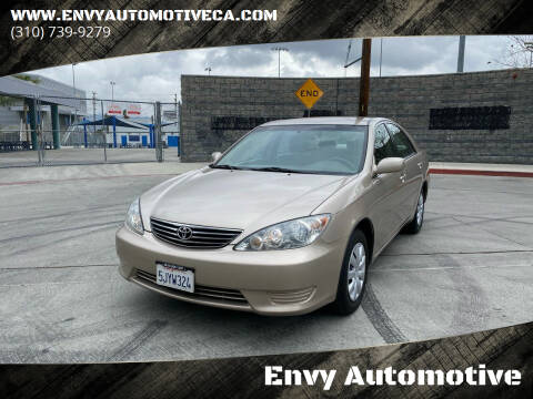 2005 Toyota Camry for sale at Envy Automotive in Studio City CA