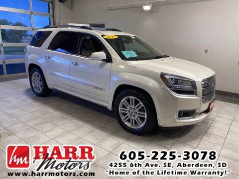 2014 GMC Acadia for sale at Harr's Redfield Ford in Redfield SD
