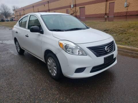 2012 Nissan Versa for sale at Fleet Automotive LLC in Maplewood MN