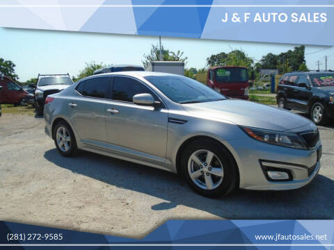 2014 Kia Optima for sale at J & F AUTO SALES in Houston TX