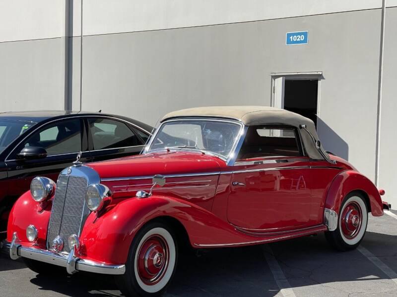 1951 Mercedes-Benz 170s for sale at Corsa Exotics Inc in Montebello CA