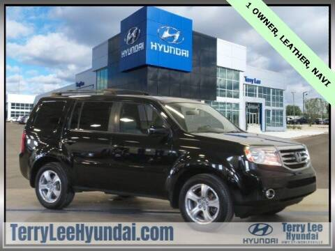 2015 Honda Pilot for sale at Terry Lee Hyundai in Noblesville IN