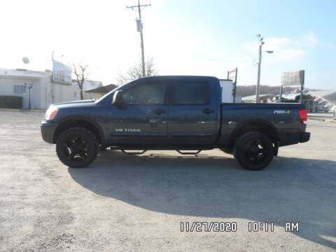 2014 Nissan Titan for sale at Town and Country Motors in Warsaw MO