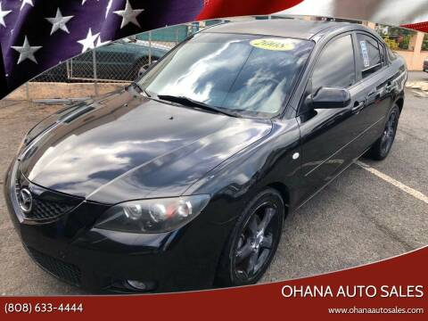 2008 Mazda MAZDA3 for sale at Ohana Auto Sales in Wailuku HI