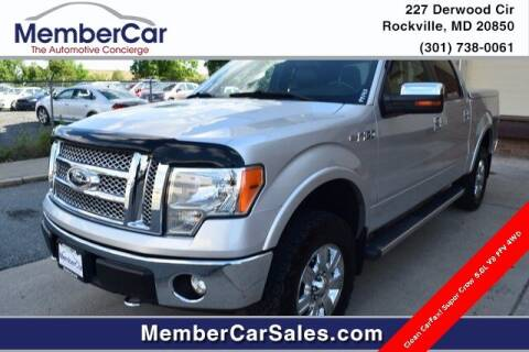 2011 Ford F-150 for sale at MemberCar in Rockville MD