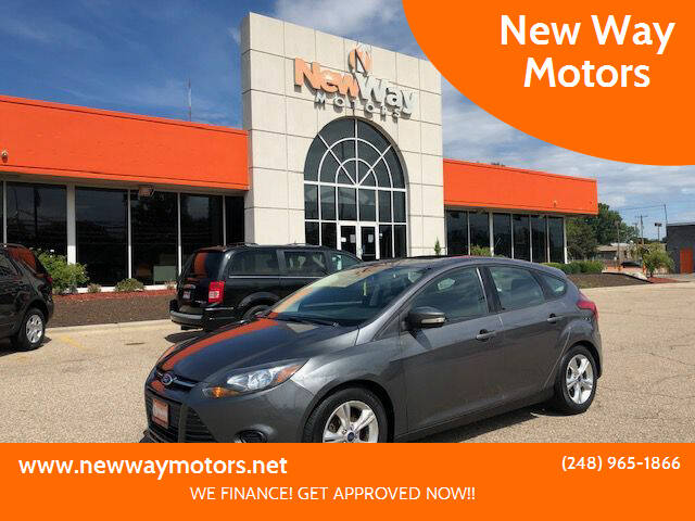 2014 Ford Focus for sale at New Way Motors in Ferndale MI