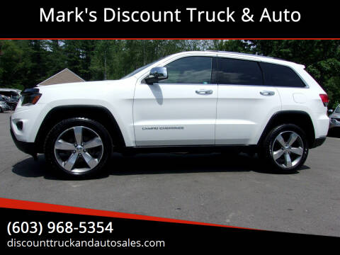 2014 Jeep Grand Cherokee for sale at Mark's Discount Truck & Auto in Londonderry NH