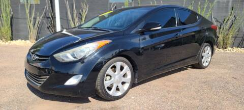 2013 Hyundai Elantra for sale at Fast Trac Auto Sales in Phoenix AZ