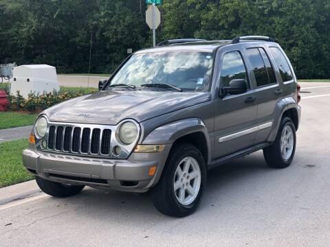 2005 Jeep Liberty for sale at L G AUTO SALES in Boynton Beach FL