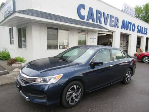 2017 Honda Accord for sale at Carver Auto Sales in Saint Paul MN