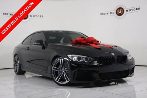 2014 BMW 4 Series for sale at INDY'S UNLIMITED MOTORS - UNLIMITED MOTORS in Westfield IN