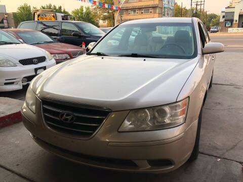 2009 Hyundai Sonata for sale at Capitol Hill Auto Sales LLC in Denver CO