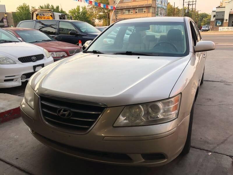 2009 Hyundai Sonata for sale at Capitol Hill Auto Sales LLC in Denver CO