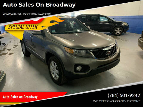 2013 Kia Sorento for sale at Auto Sales on Broadway in Norwood MA