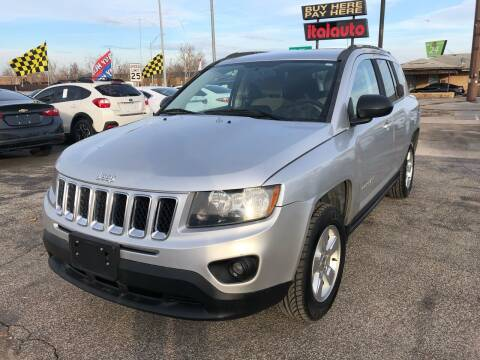2014 Jeep Compass for sale at Ital Auto in Oklahoma City OK