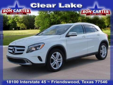 2017 Mercedes-Benz GLA for sale at Ron Carter  Clear Lake Used Cars in Houston TX