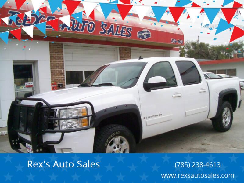 2007 Chevrolet Silverado 1500 for sale at Rex's Auto Sales in Junction City KS
