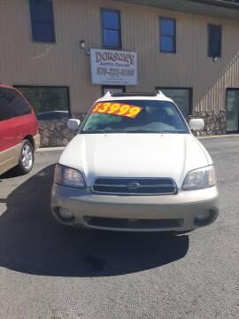 2000 Subaru Outback for sale at DORSON'S AUTO SALES in Clifford PA
