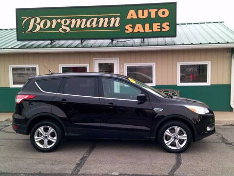 2013 Ford Escape for sale at Borgmann Auto Sales in Norfolk NE