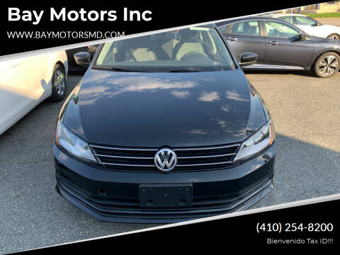 2017 Volkswagen Jetta for sale at Bay Motors Inc in Baltimore MD