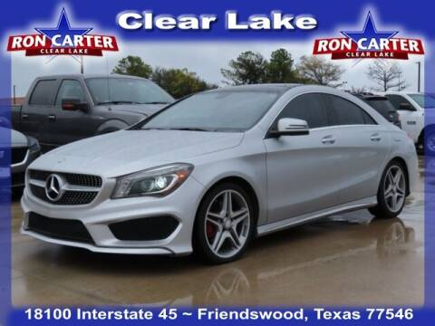 2014 Mercedes-Benz CLA for sale at Ron Carter  Clear Lake Used Cars in Houston TX