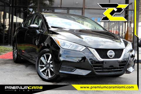 2020 Nissan Versa for sale at Premium Cars of Miami in Miami FL