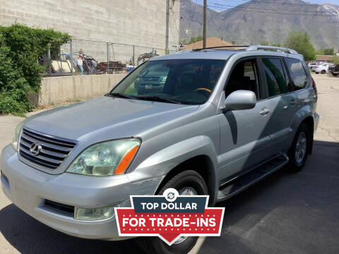 2007 Lexus GX 470 for sale at Select AWD in Provo UT