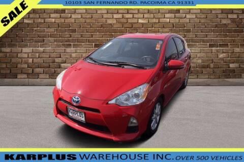 2014 Toyota Prius c for sale at Karplus Warehouse in Pacoima CA