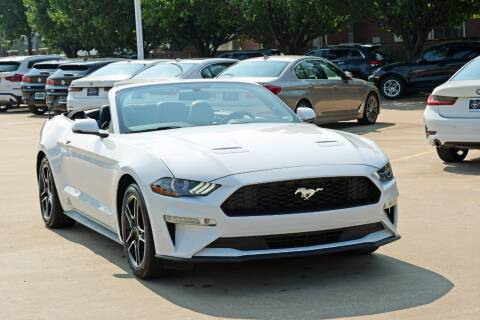 2020 Ford Mustang for sale at Silver Star Motorcars in Dallas TX