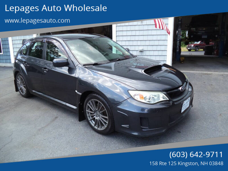 2013 Subaru Impreza for sale at Lepages Auto Wholesale in Kingston NH