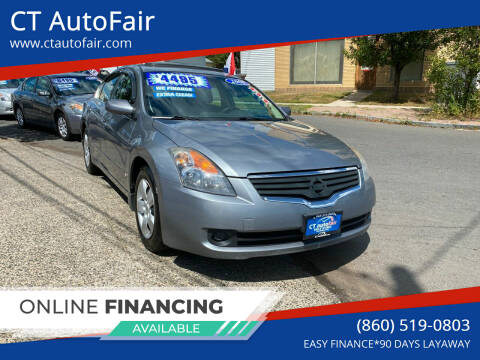 2008 Nissan Altima for sale at CT AutoFair in West Hartford CT