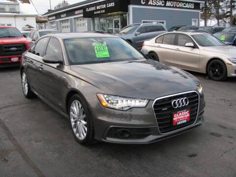 2014 Audi A6 for sale at CLASSIC MOTOR CARS in West Allis WI