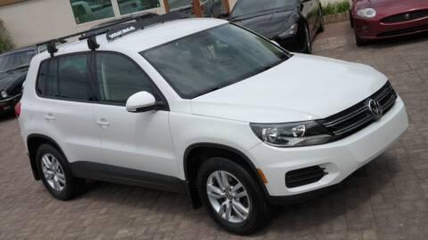 2012 Volkswagen Tiguan for sale at Cars-KC LLC in Overland Park KS