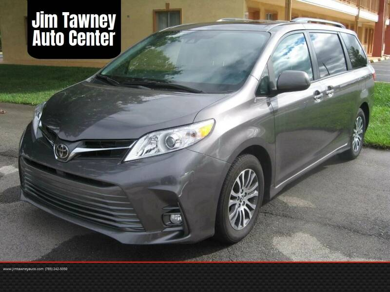 2018 Toyota Sienna for sale at Jim Tawney Auto Center Inc in Ottawa KS