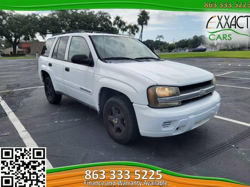 2002 Chevrolet TrailBlazer for sale at Exxact Cars in Lakeland FL