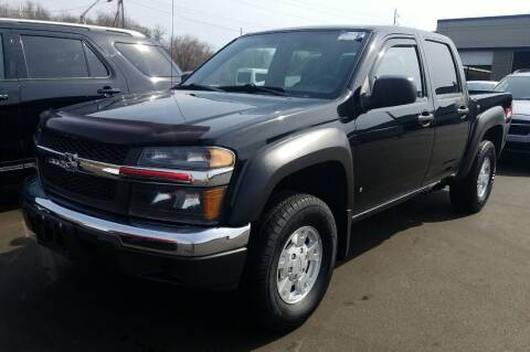 2007 Chevrolet Colorado for sale at Angelo's Auto Sales in Lowellville OH