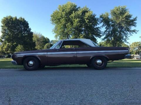 1964 Plymouth Fury for sale at Classic Car Deals in Cadillac MI