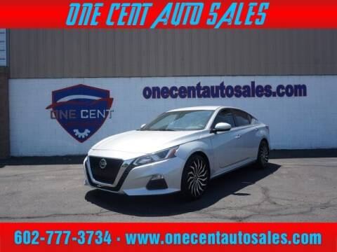 2019 Nissan Altima for sale at One Cent Auto Sales in Glendale AZ