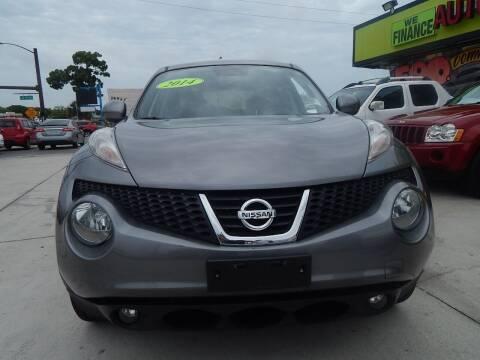 2014 Nissan JUKE for sale at Auto Outlet of Sarasota in Sarasota FL