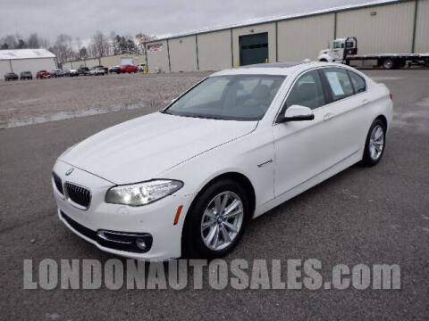 2015 BMW 5 Series for sale at London Auto Sales LLC in London KY