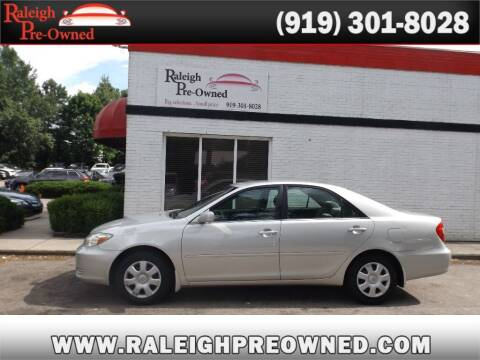 2003 Toyota Camry for sale at Raleigh Pre-Owned in Raleigh NC
