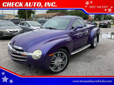 2004 Chevrolet SSR for sale at CHECK AUTO, INC. in Tampa FL