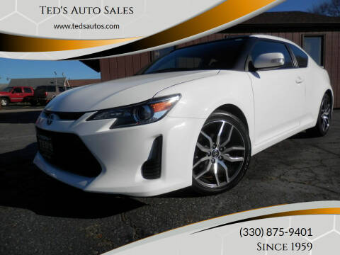 2014 Scion tC for sale at Ted's Auto Sales in Louisville OH